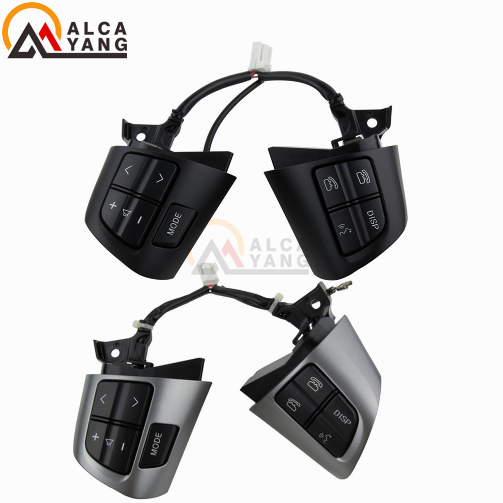 Image 4 - Premier Quality Steering Wheel Switches buttons for Toyota Corolla / Wish / Rav4 / Altis OE Quality-in Car Switches & Relays from Automobiles & Motorcycles