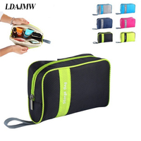 Hot High Quality Organizer Bag Multi Functional Make Up Bag Cosmetic Bags Storage Women Men Casual