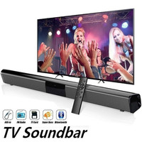 2019 New 330/550mm Wireless Bluetooth Soundbar Stereo Speaker Home Theater TV Strong Bass Subwoofer with/without Remote Control