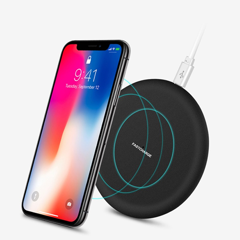 Qi Wireless <font><b>Charger</b></font> for <font><b>Nokia</b></font> 7 Plus 7.1 X7 <font><b>8.1</b></font> X5 X6 X71 3.1 5.1 6.1plus 8 Sirocco <font><b>Chargers</b></font> Power Dock Charging USB Pad Case image