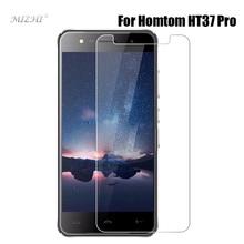 """Для HOMTOM HT37 Pro 5,0 дюймов HD телефон Закаленное стекло протектор экрана для doogee HOMTOM ht37 5,"""" 9 H защитная Пленка чехол"""