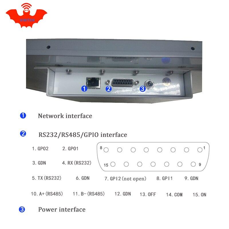 UHF-RFID-Leser mit großer Reichweite (mehr als 12 m) Integriertes - Schutz und Sicherheit - Foto 2
