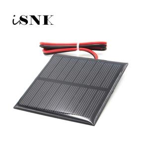 Image 1 - لوحة طاقة شمسية 3V 3.5V 4V مع نظام طاقة شمسية مصغر سلك 30 سنتيمتر لتقوم بها بنفسك لشحن بطارية الهاتف الخلوي 0.36W 0.45W 0.9W 0.24W 0.6W 0.64W toy