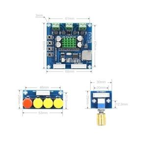 Image 4 - DC 12 V 24 V Bluetooth デジタルアンプボード 15 ワット + 15 ワットステレオ 2.0 オーディオアンプとトーンボード TF カードプレイ