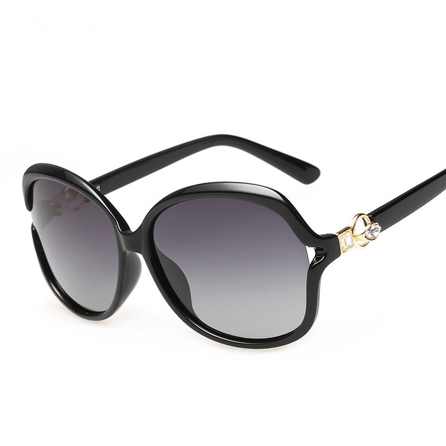 Sunglasses, women's new fashion classic polarized sunglasses large frame sunglasses driving mirror 8005, prescription sunglasses