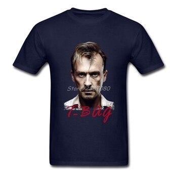 Pp Prison Break t-bag camisetas de ocio para hombres de algodón de gran tamaño de manga corta Camisetas De hombre personalizadas