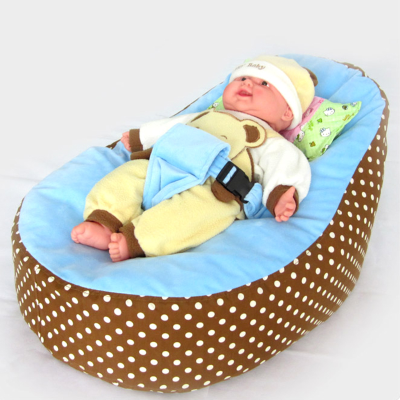 FREE SHIPPING 755035cm Baby Beanbags Chair Furniture Lounger Home Living Room Bean Bag Seats Couch Cover Without Filling In Sofa From Mother