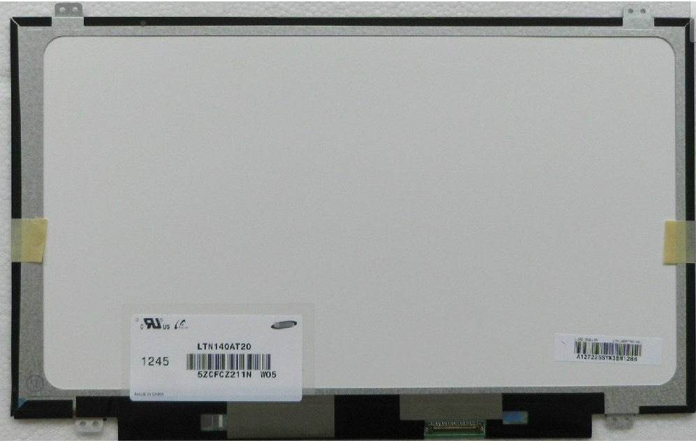 LCD Screen 14.0 inchesFor Samsung LTN140AT12-H01 LTN140AT20-L01 H03 401 S01 LTN140AT06