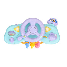 Creative Musical Electric Simulation Light Music Driving Steering Wheel Childrens Educational Toys for Kids Games