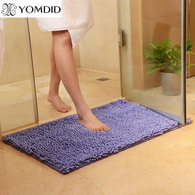 Microfiber Doormat Soft Shaggy Mat Comfortable Material Absorbent