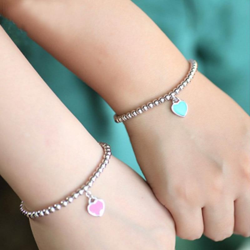 Heart Shaped Pendant Bracelet Tiffan Jewelry 925 Sterling Silver Pendant Charm Brand Design For Women Fine Jewelry Wholesale цена