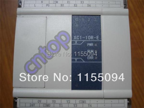 XC1-10R-E XINJE XC1 Series PLC AC220V DI 5 DO 5 Relay new in box fbs 8xyr ac fatek plc ac220v 4 do 4 do relay module new in box