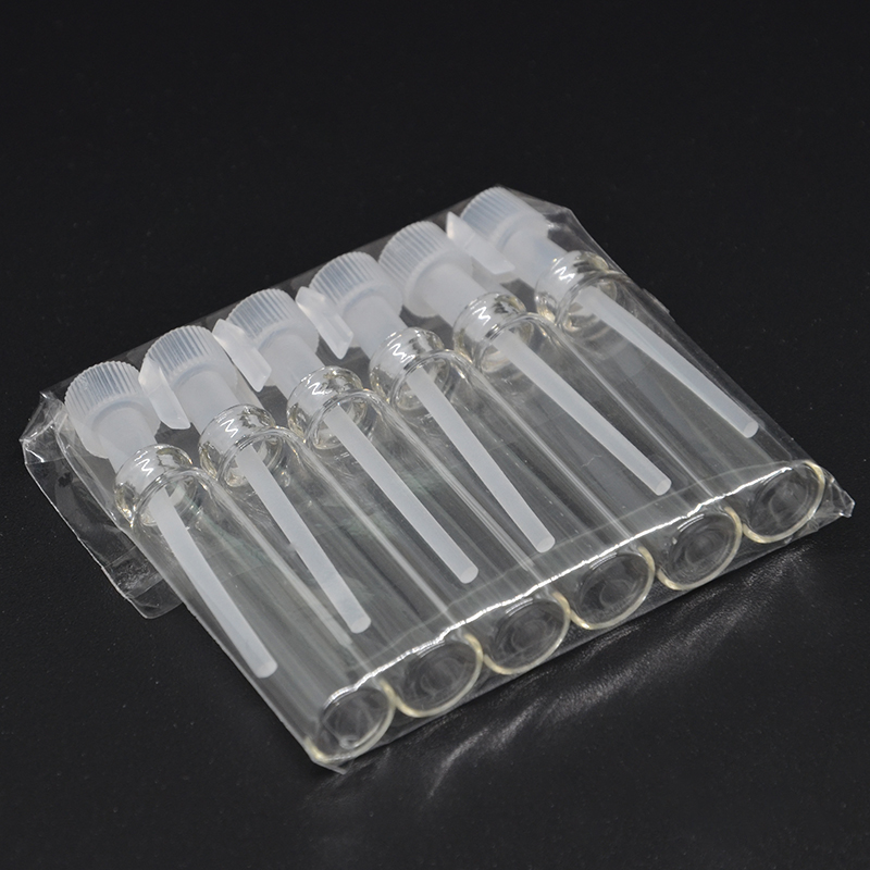BZ-3-1 Heat Set 50Pieces/Lot 1ml Micro Glass Perfume Bottle Inflatable Glass Tube Bottle Empty Perfume Bottle Dropper Bottle 2 pieces lot 500ml monteggia gas washing bottle porous tube lab glass gas washing bottle muencks