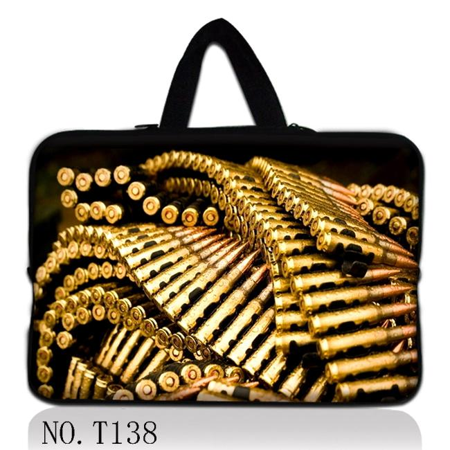 Bullets 13 Laptop Sleeve Carry Bag Case For 13.3 Macbook Pro Retina/Air/12.9 Ipad Pro