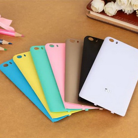 brand new ebcdf 944d3 US $4.88 |for Xiaomi Mi5 Battery Door Cover Case Colorful Capa for Xiaomi  Mi5 Mi 5 M5 Hard Plastic Battery Back Cover Case Replacement Bag on ...