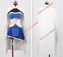 Tamaño mujer – Puella Magi Madoka Magica Sayaka Miki cosplay Anime Costume