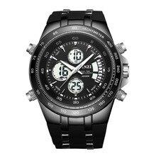 BINZI 2017 Luxury Brand Men Sports Ejército Militar Hombres de Los Relojes de Cuarzo Analógico LED Reloj Masculino Impermeable Reloj relogio masculino