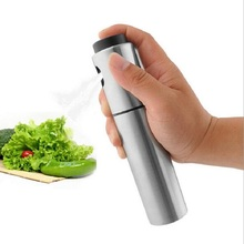 Stainless Steel Olive Pump Spray Bottle Oil Sprayer Oiler Pot BBQ Barbecue Cooking Tool Can Pot Cookware kitchen Tool