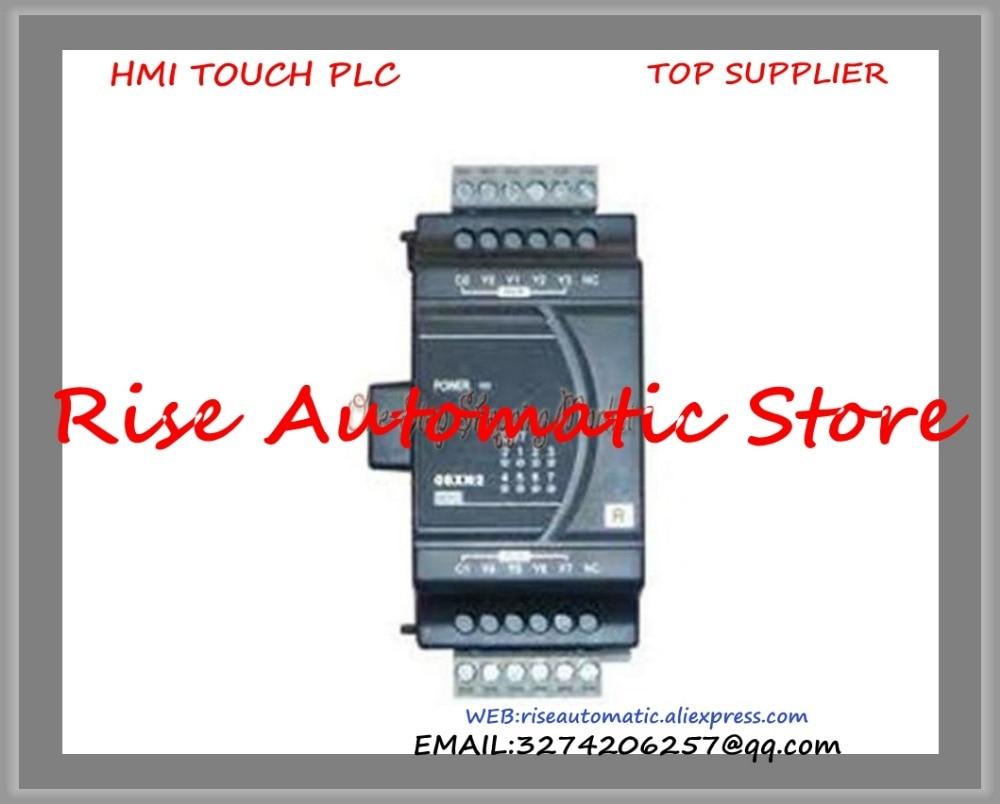 New Original Programmable Controller Digital PLC Module DI 4 DO 4 Transistor output DVP08XP211T new original programmable controller plc 8do transistor pnp output digital module dvp08sn11ts