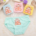 2 pcs/lot Triangle The children's underwear pants for girls The boy's underwear All for the children's clothing pure cotton1088