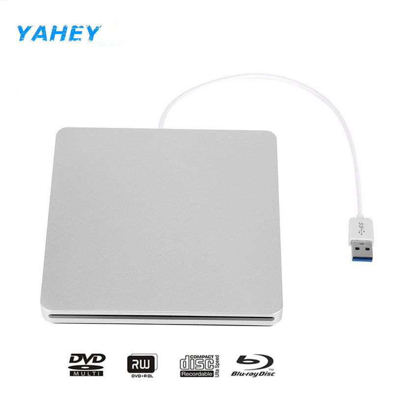 USB 3.0 Slot Load Blu-ray Player Drive BD-RE Burner External CD Recorder Writer DVD+/-RW DVD RAM ROM for Laptop Computer Mac PC пальто mexx mx3024459 coa 001