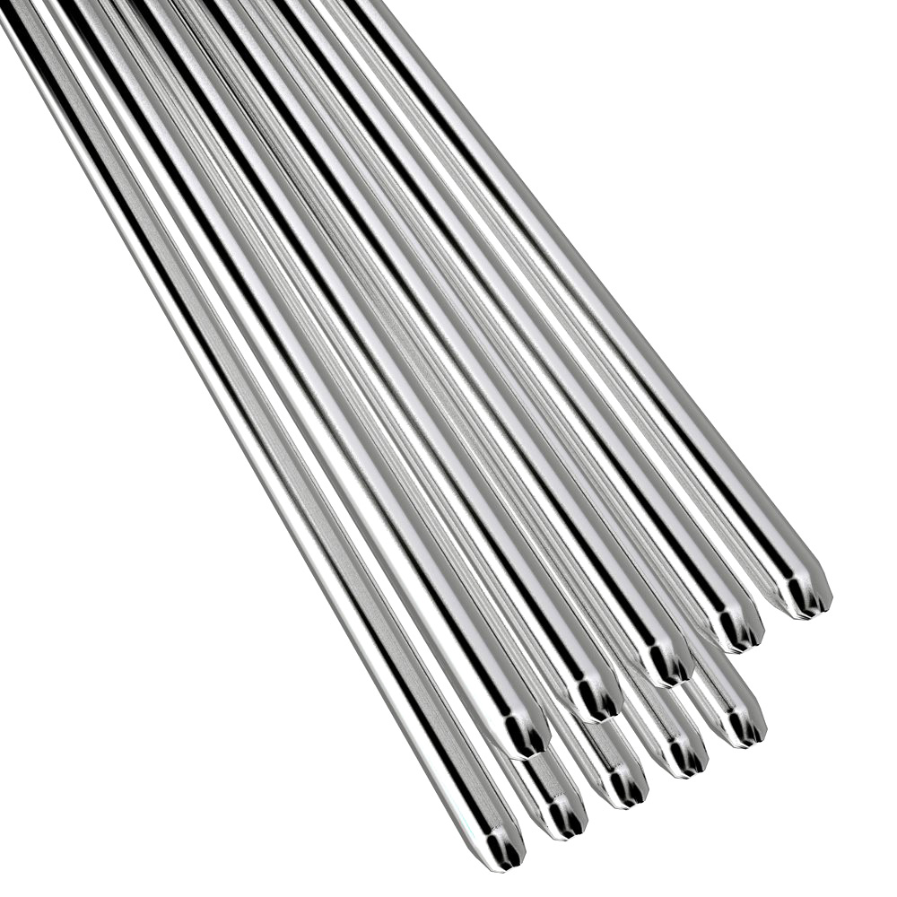 5/10 Pcs Easy Aluminum Welding Rods Low Temperature 1.6/2mm 50CM No Need Solder Powder Lightweight Small Volume Easy Bend LB
