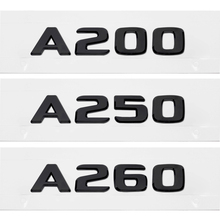 Auto Rear Trunk Decals A200 A250 A260 For Mercedes Benz w204 w124 w20 w168 W203 Letters Number Sticker Car Body Accessories