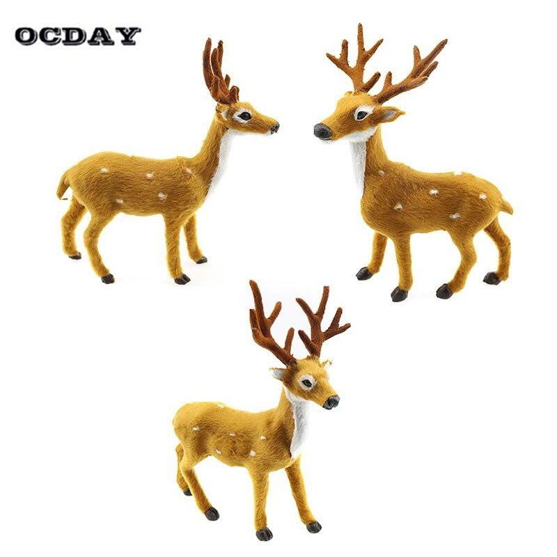 Ninos Juguetes De Peluche Navidad Elk Animal Plush Bebe Lindo Ciervo - Ciervo-navidad