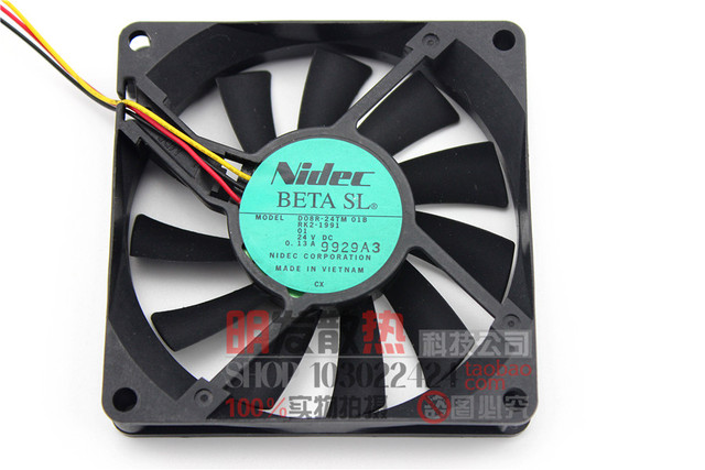 01B ventilador de refrigeração 24 V D08R-24TM 8015