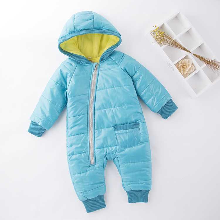 Herfst Winter Mode Baby Rompertjes Voor Meisje Jongen Lange Mouw Pasgeboren Baby Kleding Warm Babykleertjes Overalls Jumpsuit Overalls
