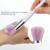 Pinceles de Maquillaje 10 unids/set Hilo Arco Iris unicornio Belleza Cosméticos Fundación Mezcla de Rubor maquillaje Profesional Cepillo Conjunto de herramientas