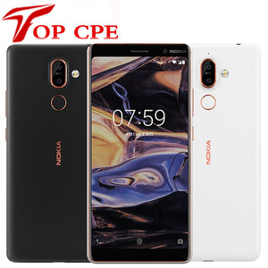 Original Nokia 7 Plus Smartphone Android 8.0 4GB RAM 64G ROM Snapdragon 660 Octa core 6.0'' Display Bluetooth 5.0 Mobile phone