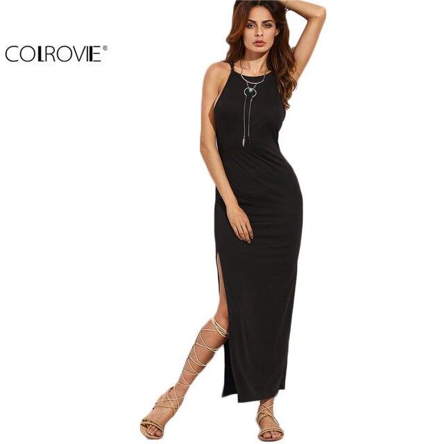 Online-Shop COLROVIE Engen Kleid Kleine Schwarze Kleid Europäischen ...