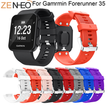 Replacement Wristband Watch band For Garmin Forerunner 35 Wrist strap Silicone Soft Band Strap For Garmin Forerunner 35 Bands superior soft silicone strap replacement watch band lugs adapters for garmin approach s2 s4 smartwatch nov 30