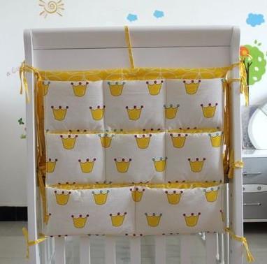 Promoción! gatito Mickey 62 * 52 cm productos del lecho del bebé para la cabeza de una cama cuelga el bolso / la