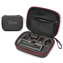 PU futerał do przenoszenia dla DJI OSMO kieszeń etui z funkcją ładowania mobilny powerbank EVA wodoodporna obudowa torba kardana ręczna kieszonkowy aparat