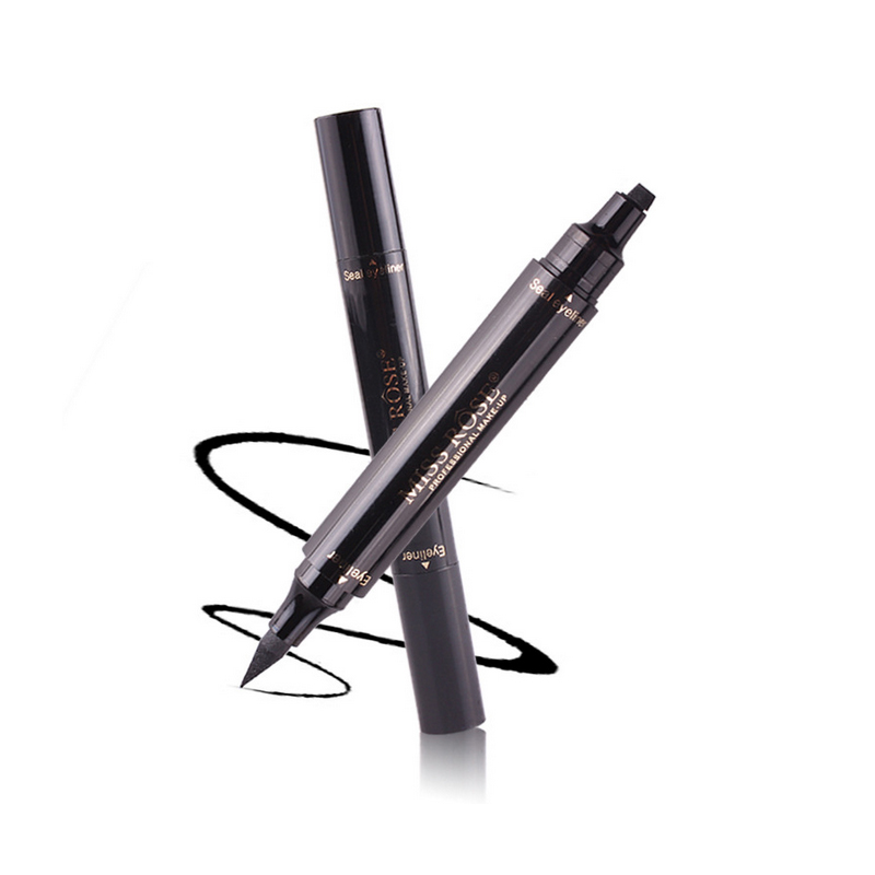 Eyeliner Eye Makeup Tool Double Head Waterproof Seals Long-lasting Eyeliner Black Pencil Eyeliner Profissional Completa Tslm1 Durable Service Back To Search Resultsbeauty & Health