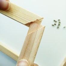 Набор для рисования по номерам на деревянной раме
