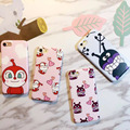 Anpanman baikinman phone case para iphone 7 7 plus 6 6 s 6 más imd suave tpu case funda de dibujos animados película teléfono cubierta