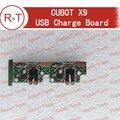 Cubot x9 100% original cargador usb enchufe usb bordo módulo de repuesto para cubot x9 smartphone en stock + free gratis