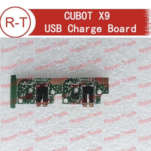 Cubot x9 placa usb 100% plugue do carregador usb original placa módulo de substituição para cubot x9 smartphone em estoque + free grátis