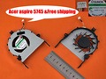 Novo laptop ventilador de refrigeração para cpu substituição para acer aspire 5745 (para placa de vídeo discreta) cpu refrigerador mg75090v1-b030-s99/radiador
