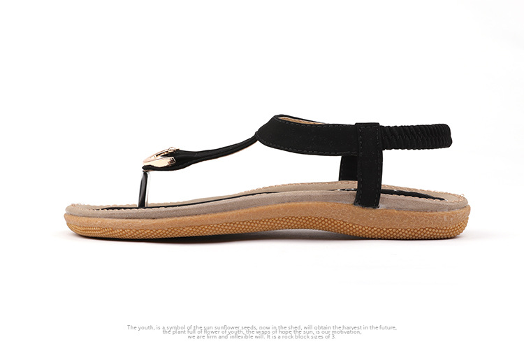 HTB1Xg0zusuYBuNkSmRyq6AA3pXaY BEYARNE size 35-42 new women sandal flat heel sandalias femininas summer casual single shoes woman soft bottom slippers sandals