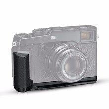 Новая MHG-XPRO2 Металлическая рукоятка для Fujifilm X-PRO2 l-образная вертикальная металлическая камера быстросъемная пластина l-кронштейн для Fuji X-Pro 2