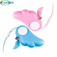Self Defense Keychain Personal Alarm Protection Women Security Anti Rape Alarm 90dB Loud Self Defense Supplies Emergency Alarm new safurance green aluminium alloy crank hand operated air raid emergency safety alarm siren home self protection security