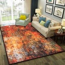 2017 venta caliente tiempo limitado-mecánica de lavado comercial tapetes alfombra carpet sofá mesa de té de alto grado de la pintura del arte dormitorio alfombra grande
