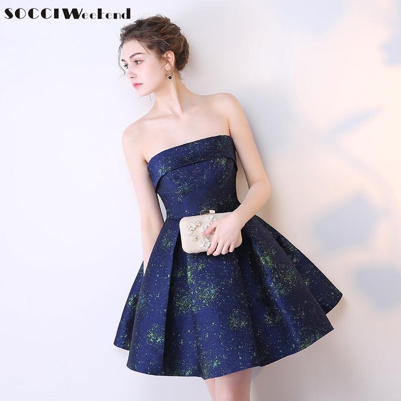 679af8c1b346 SOCCI 2017 κορίτσια βραχυπρόθεσμα φορέματα κοκτέιλ κομψό φόρεμα ...