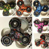 Love Thank You Fidget Spinner Metal Hands Spinner Plastictoys For Children Spinning Time 1 5 2