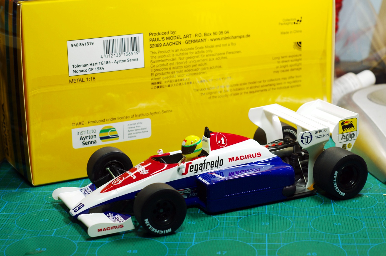 f1-formula-1-racing-model-metal-collection-model-mini-cut-minichamps-1-18-toleman-hart-tg-184-font-b-senna-b-font-1984