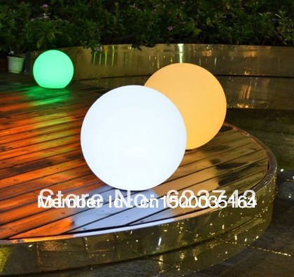 40 см освещенный светодиодный шар цвет сменный, водонепроницаемый бассейн stlools изменение цвета D40cm светодиодный шар RGB, loysphere - 2
